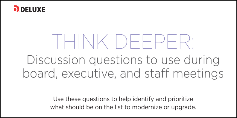 The Mindset of a De Novo Bank: A discussion guide for bank and credit union leaders